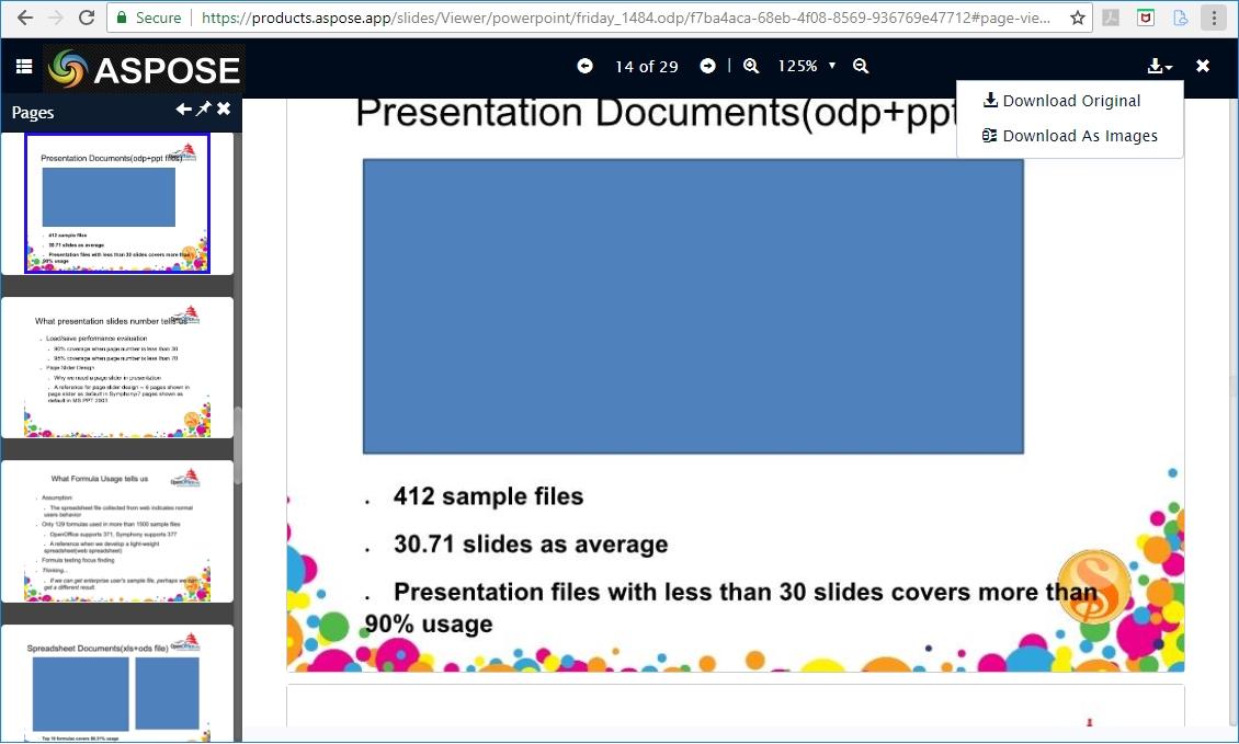 Aspose.Slides PowerPoint Viewer