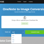 Free online OneNote to Image converter