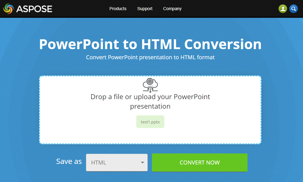 free online powerpoint to html converter file format apps blog